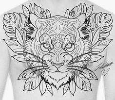 "276 Me gusta, 5 comentarios - Jamie Lee Knott (@jamieleetattooart) en Instagram: ""Chest design id like to tattoo. Message me for booking enquiries :) #tattooworkers…"""