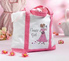 Flower Girl Keepsake Tote Bag