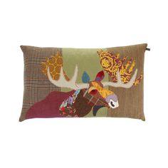 Discover the Carola van Dyke Moose Cushion - 50x75cm at Amara