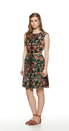 Só na Antix Store você encontra Vestido Jardim dos Canários com exclusividade na internet