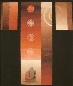 """Trophy for Design, OEQC 2009. Pat Archibald """"The Journey"""""""