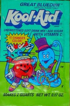 One of the best Kool Aids! Kool Aid Flavors, Discontinued Food, 90s Food, Kool Aid Man, My Childhood Memories, School Memories, 90s Childhood, Sweet Memories, Weird Food