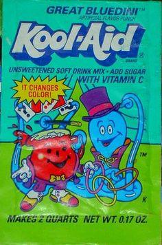 Great Bluedini Kool-Aid pack