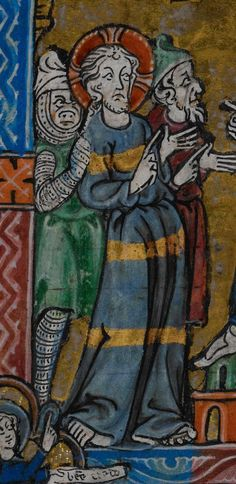Manuscript BL Stowe 17 The Maastricht Hours Folio 071v Dating 1300-1325 From Netherlands (exact location unknown) Holding Institution British Library