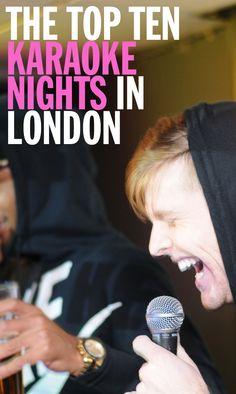 Love karaoke? Whether you're a fan of hip hop, pop, rock or gospel, there's a sing-a-long karaoke night in London for you!