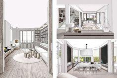 la baule | maisons de vacances | projets | www.doubleg.fr