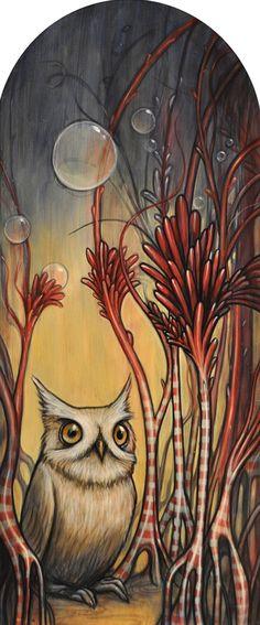 """""""Owlet"""" par Kelly Vivanco"""
