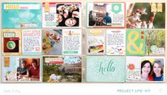 Project Life - March *PL kit only* by debduty at @Studio_Calico