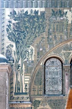 Pattern in Islamic Art ~ Great Mosque, Damascus, Syria
