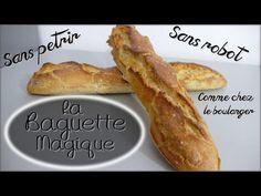 Recettes Companion - Baguettes Express en 1h - YouTube