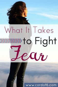 Are you tired of being afraid? Learn what it takes to put faith in action and fight fear!