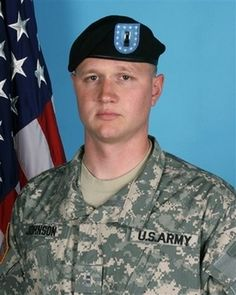 Army Chief Warrant Officer Christopher C. Johnson  Died August 14, 2007 Serving During Operation Iraqi Freedom  31, of Michigan; assigned to the 1st Battalion, 52nd Aviation Regiment, Task Force 49, Fort Wainwright, Alaska; died Aug. 14 in Taqaddum, Iraq, of injuries sustained when his helicopter crashed.