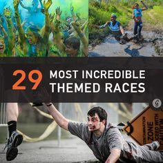 Haha once you get past the food themed ones on the list, these look so fun! The 29 Most Incredible Themed Races of 2014 Running Race, Running Tips, Running Motivation, Fitness Motivation, Course À Obstacles, Jogging, Get Toned, Marathon Training, Race Training