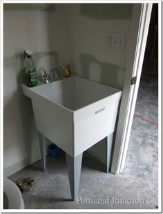 Garage on Pinterest Utility Sink, Garage Organization and Laundry ...
