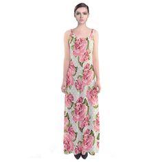 Roseanna's Garden. Roseanna's Garden Sleeveless Maxi Dress.