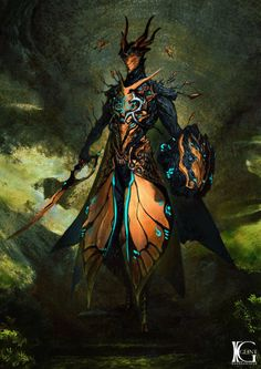 Oberon Feyarch by Kevin-Glint on DeviantArt Oberon Warframe, Warframe Art, Character Concept, Character Art, Concept Art, Fantasy Inspiration, Character Inspiration, Game Art, Dark Fantasy