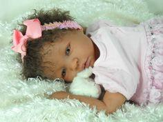 Reborn Baby Shyann by Aleina Peterson- Ethnic/biracial GORGEOUS Nannette Dress | eBay