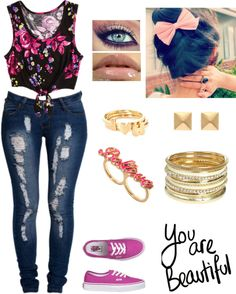 """""""Im As Bad As A Villian ♥"""" by latina-swagg ❤ liked on Polyvore"""