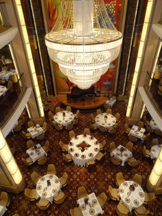 Main Dining Room on Royal Caribbean's Allure of the Seas