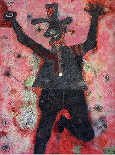 'Brindis de la alegría / El brindis' (Toast of Joy / The Toast) by Rufino Tamayo, 1985