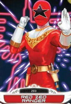 Red Zeo Power Ranger