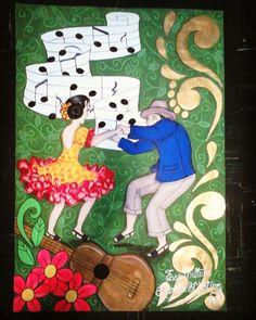 Afiche: Joropo y Música.  #misdiseños #misdibujos #joropo #llanero #cosasquehago…