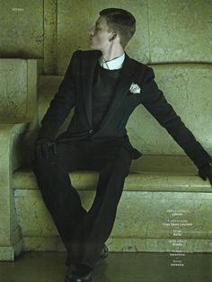 GQ Style Italy - Leather Affair
