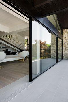 Rails invisible pour fenêtres coulissantes VITROCSA TH+ Seuil invisible by Vitrocsa
