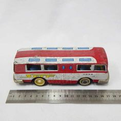 Vintage Toys - Vintage Chinese tinplate friction bus for sale in Cape Town… Buses For Sale, Tin Toys, Cape Town, Vintage Toys, Chinese, Old Fashioned Toys, Old School Toys, Chinese Language