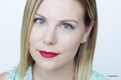 Annabelle Cosmetics Instaglam Eyeliner Mascara and BIGSHOW Lip Shine. Blue mascara!