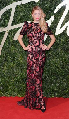 Fabulously Spotted: Lily Donaldson Wearing Marc Jacobs - British Fashion Awards 2013 - http://www.becauseiamfabulous.com/2013/12/lily-donaldson-wearing-marc-jacobs-british-fashion-awards-2013/