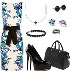"""Blue Nile"" by bethherrmann on Polyvore"