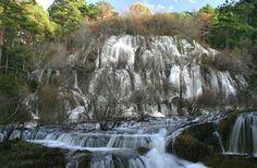 Cascadas espectaculares rio Cuervo
