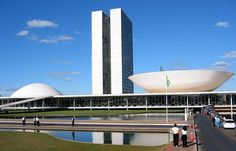 Картинки по запросу оскар нимейер здание нац конгресса в бразилиа