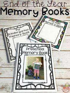 The ultimate Memory Book for Preschool, Kindergarten, and First Grade includes - Earlie Seabrocke Preschool Memory Book, Preschool Books, Preschool Classroom, Preschool Activities, School Memory Books, Owl Classroom, Reggio Classroom, Preschool Projects, Preschool Curriculum