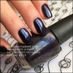 OPI Cosmo With a Twist – OPI Starlight Collection Holiday 2015