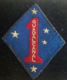 WWII 1st Marine Division Guadalcanal
