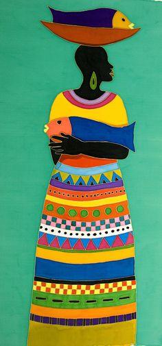 Fish For Sale Caribbean Artwork: Coastal Home Decor, Nautical Decor, Tropical Island Decor & Beach Furnishings