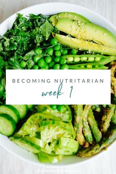 So you want to become a Nutritarian? You've read the book and you know what the 6 week plan entails. ...