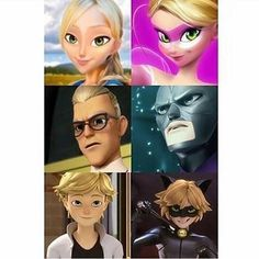 *♡* little does everyone realize that the side-kick is the son of a villian and a hero... Which makes Chat noir even cooler