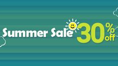 Summer Logo Design sale