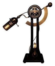 Steampunk Industrial Lamp Sultan Jack