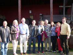 Robert y Julie Bath y Ellen y Ken Landis, reconocidos expertos en vinos y gastronomías visitaron Tenerife. Que lujo!
