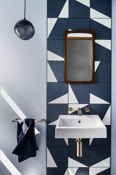 Subway Tile Who? 7 Bathroom Backsplash Ideas That'll Make You Forget It Ever Existed Subway Tile Who