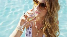 More champagne, please! Isn't is fabulous how drinking champagne on a Tuesday can make it feel like Saturday?! Feel the vibes in our new Palm Canyon collection  #charmesilkiner #palmcanyon #palmsprings #champagne #cheers