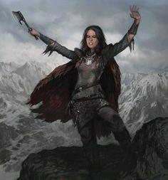 Asha Greyjoy - love to hate her