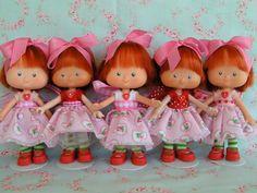 Vintage Strawberry SHortcake Dolls Birthday/Tea by KittyKatDance, $140,00