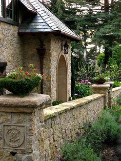 Irish Rose- a Fairytale Cottage in Carmel, via Flickr.