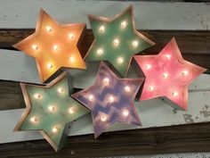 Hey, I found this really awesome Etsy listing at https://www.etsy.com/listing/172528769/little-star-lighted-marquee-12-wood