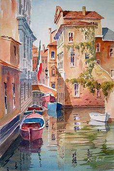 Ron Hazell: Watercolor Artist